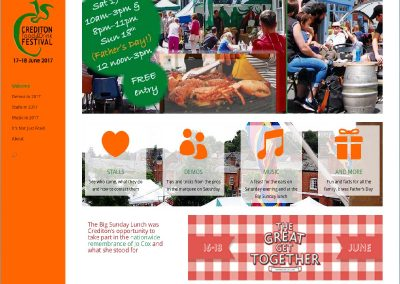 Website-Crediton Food Festival